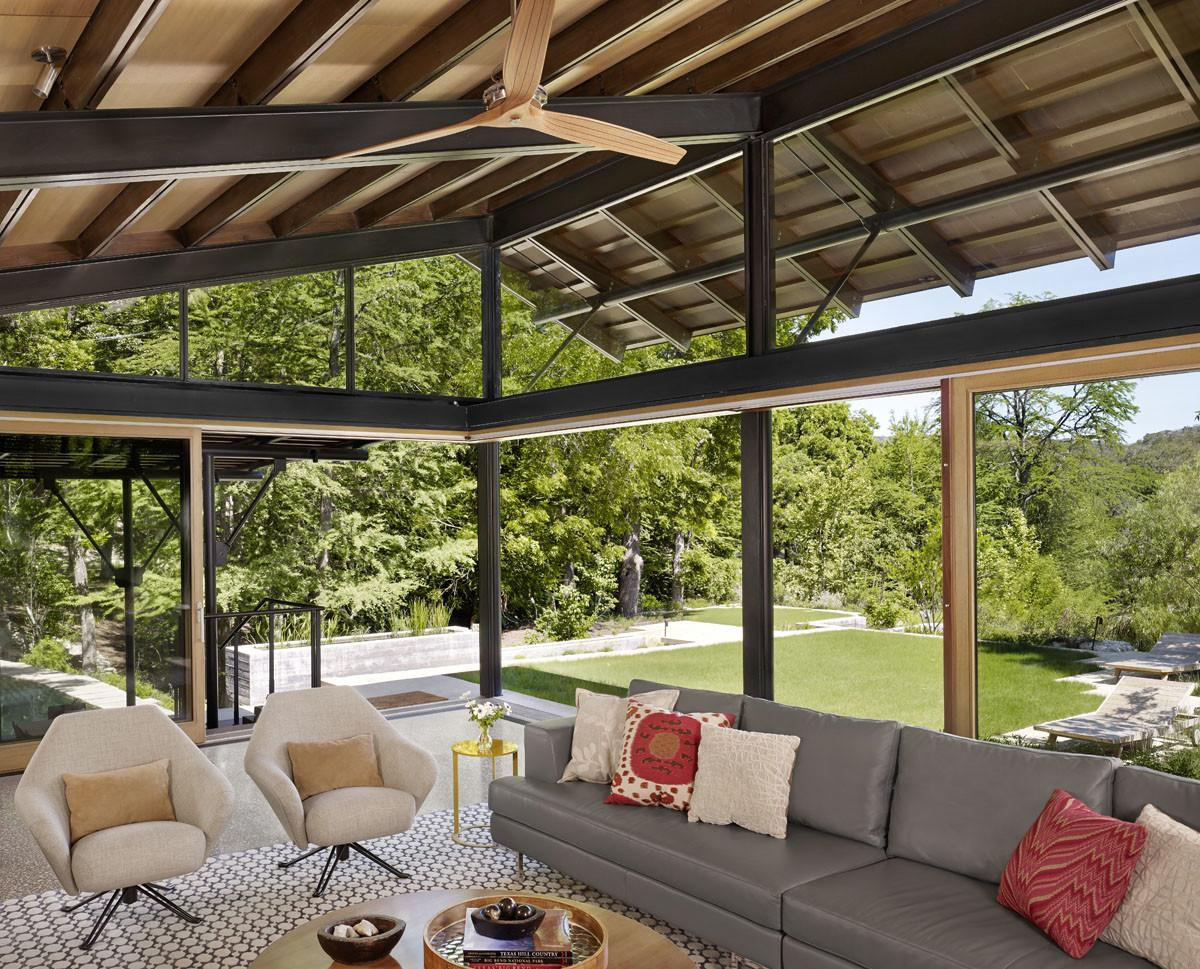 Lake Flato Designs Hill Country House All