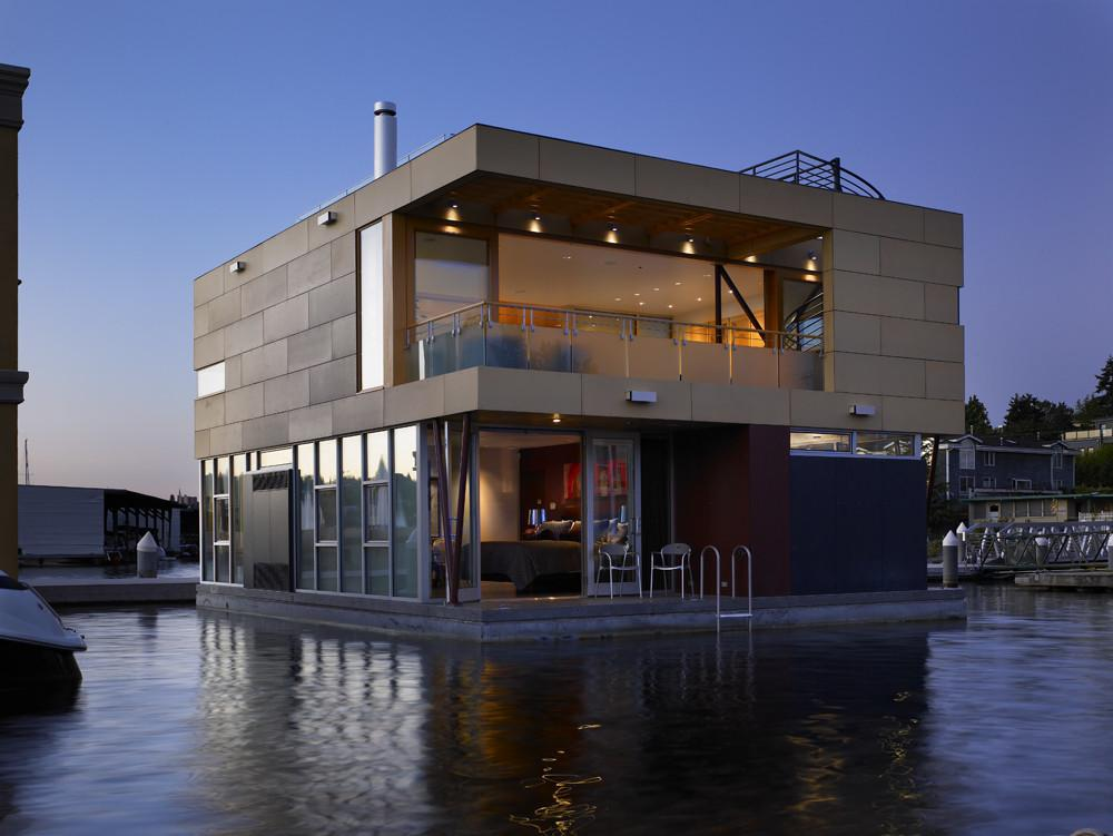 Lake Union Floating Home Vandeventer Carlander
