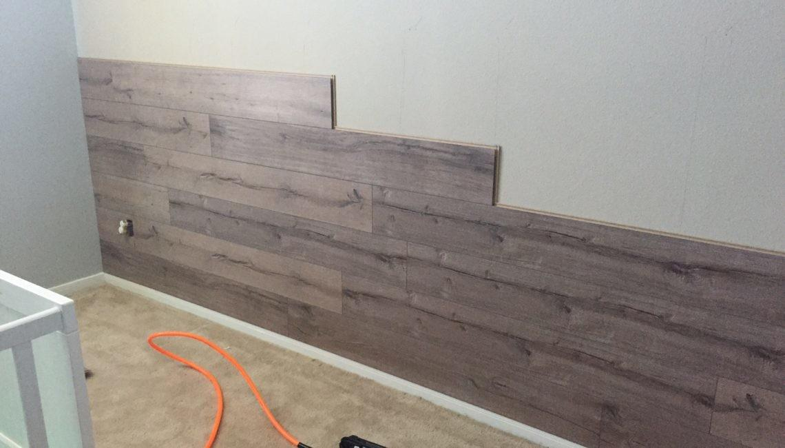 Laminate Accent Wall Tutorial Every Year Gets Better