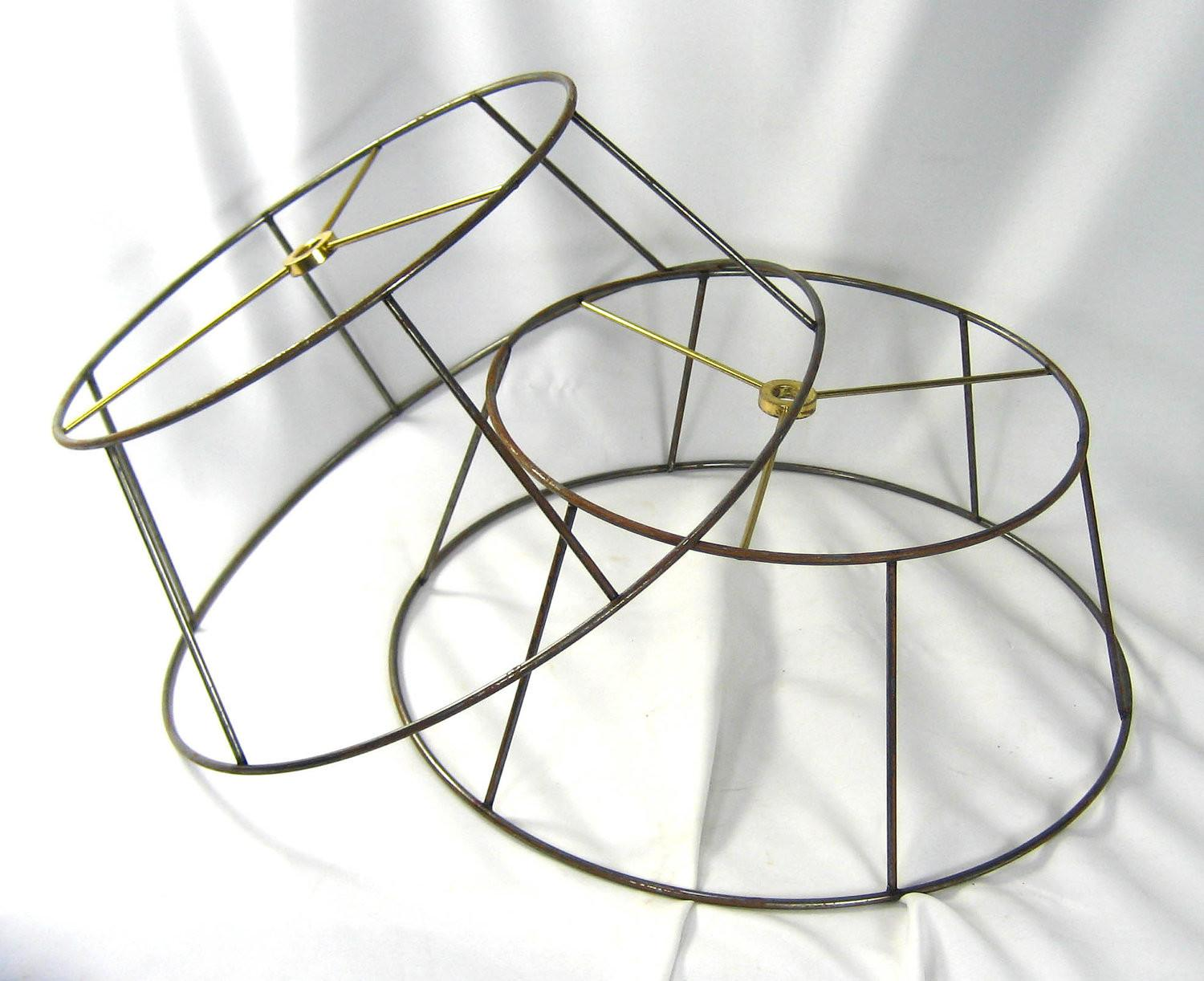 Lamp Shade Wire Frames Table Hand Made