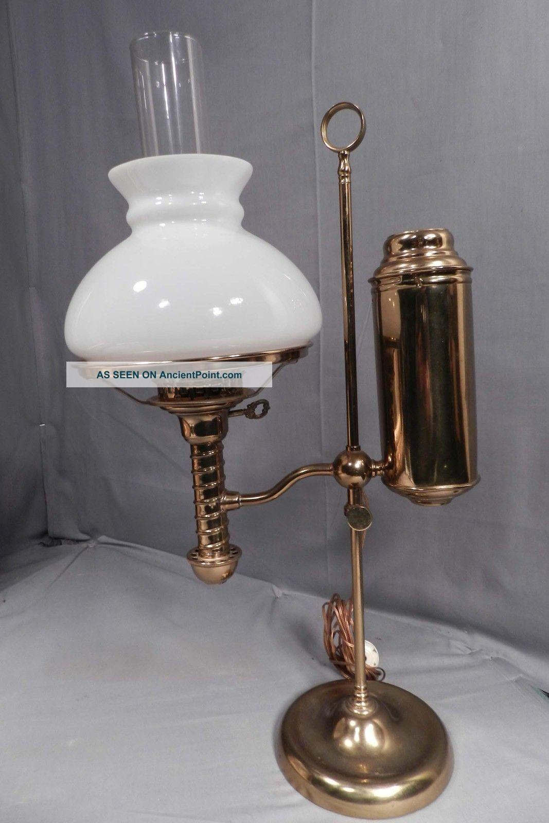 Lamps Fresh Glass Brass Table Style Home