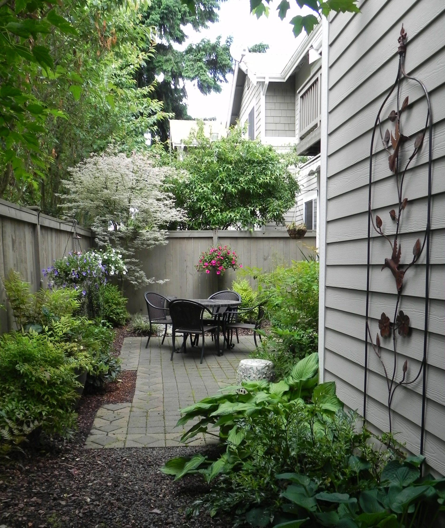 Landscape Design Small Spaces
