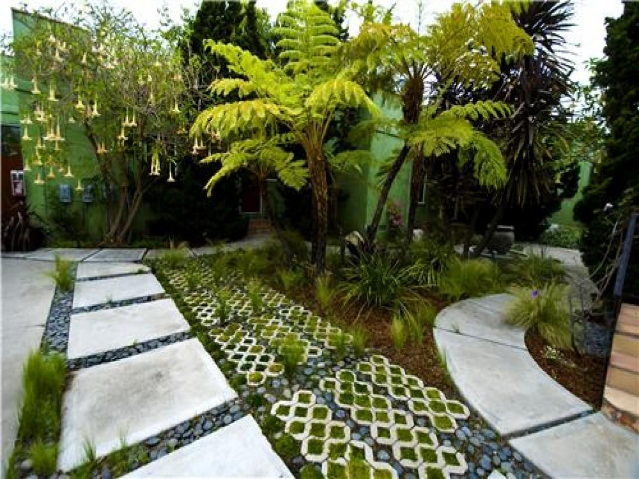 Landscape Paving Ideas Sustainable Design