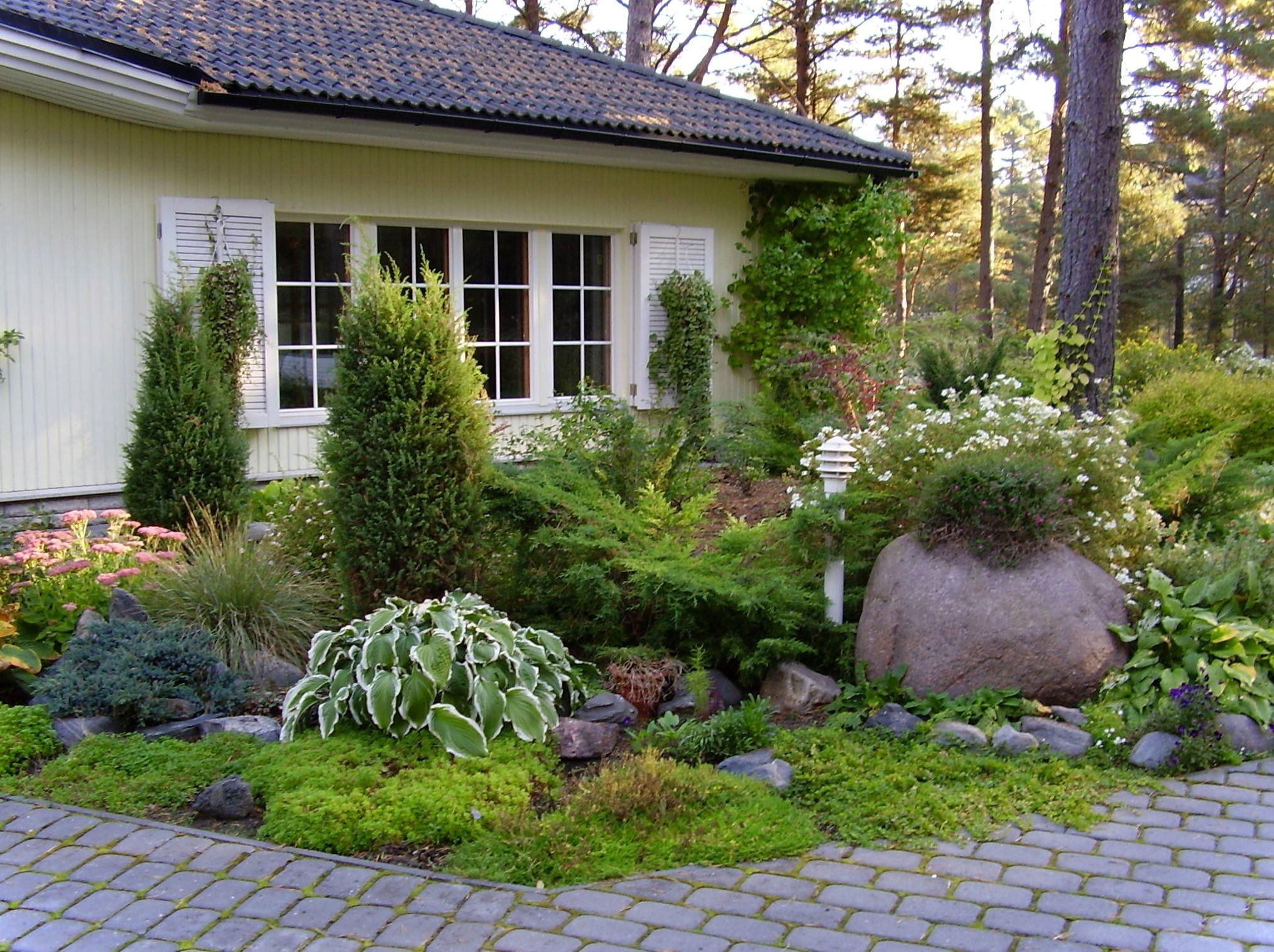 Landscaping Home Garden Design Cottage