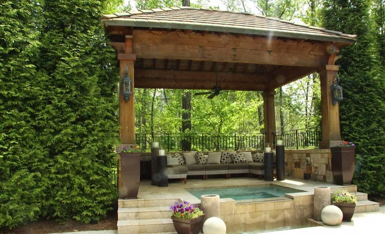 Landscaping Outdoor Building Garden Gazebo Design