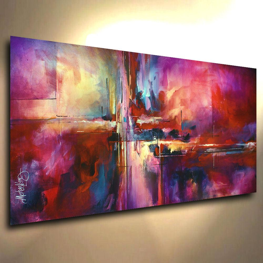 Lang Art Abstract Giclee Canvas Print Modern Painting
