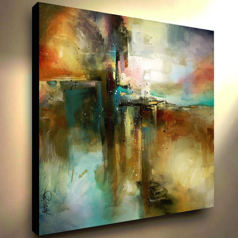 Large Abstract Art Giclee Canvas Print Painting