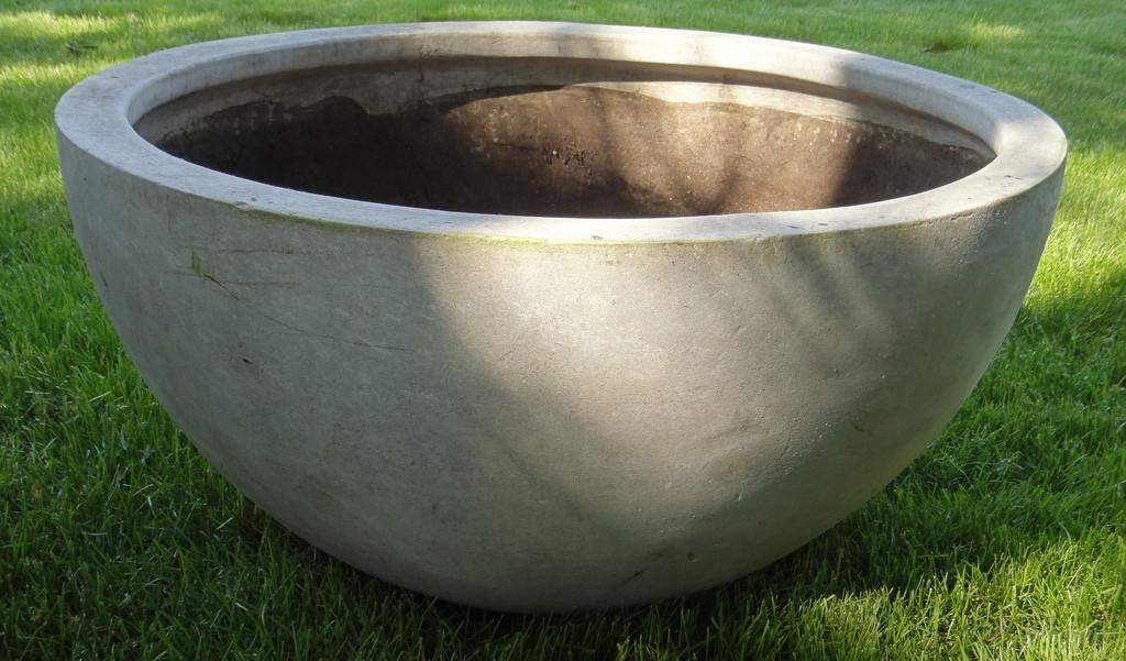 Large Atlas Asbestos Cement Patio Pot General