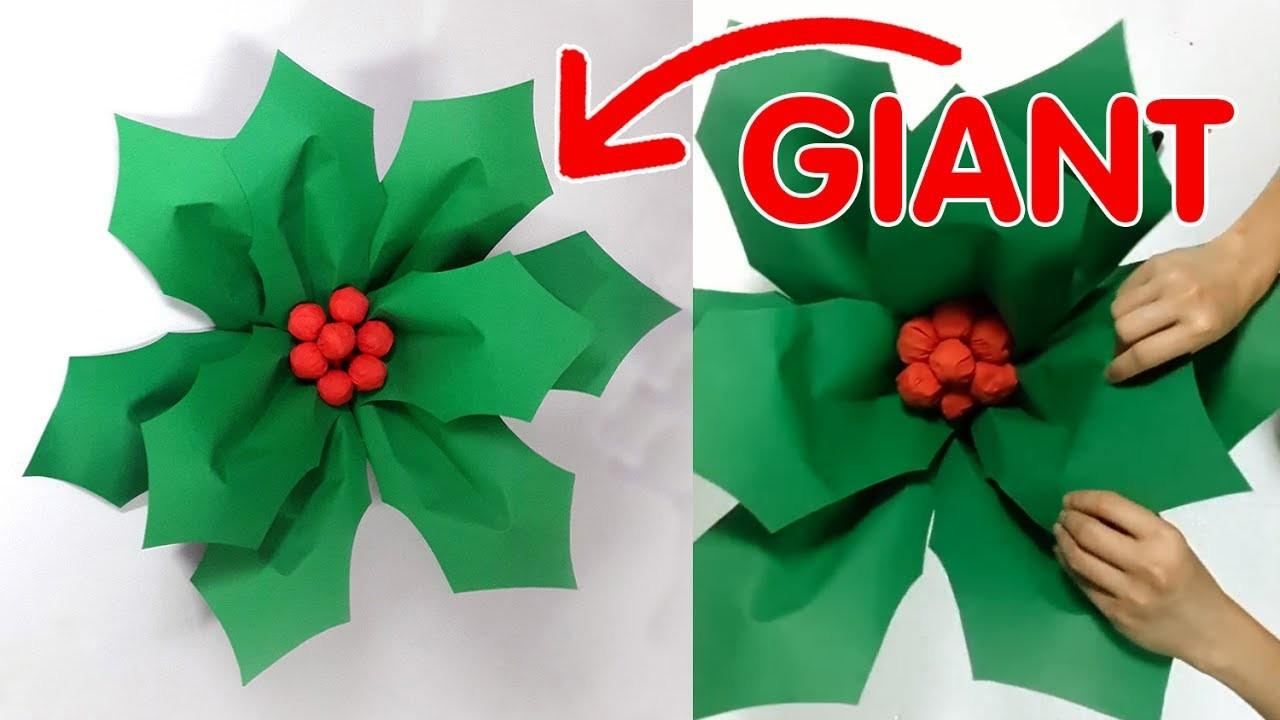 Large Christmas Decoration Diy Giant Hollyberry