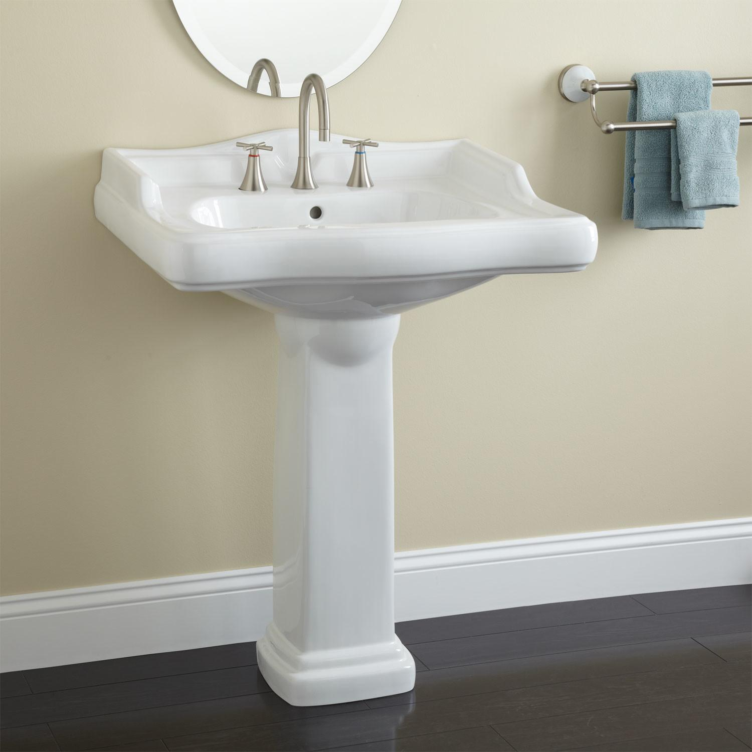 Large Dawes Pedestal Sink