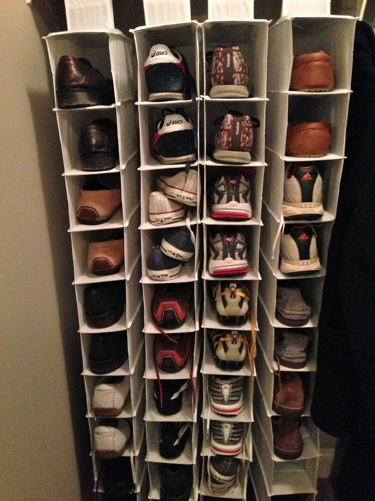 Large Diy Shoe Organizer Small Closet Roselawnlutheran