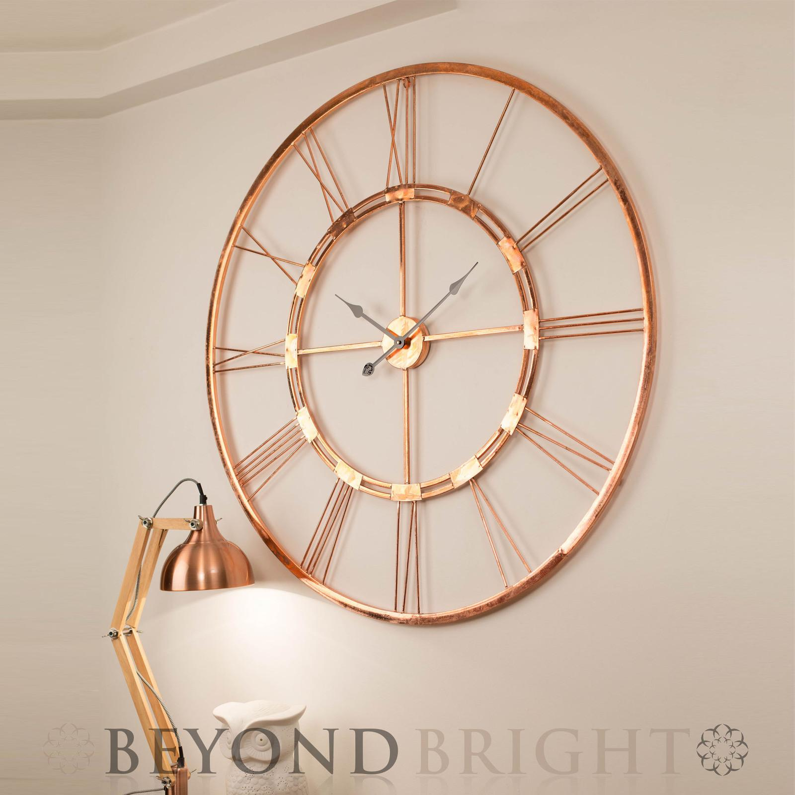 Large Exterior Wall Clock Decorating Clocks
