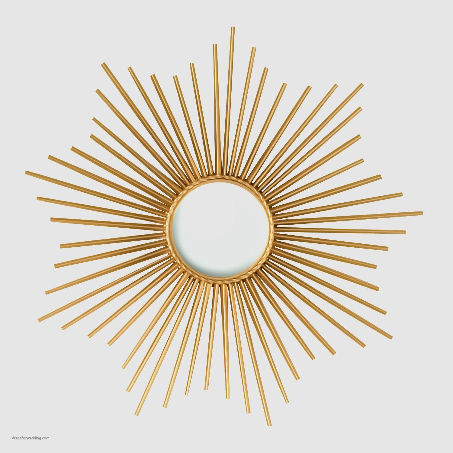 Large Gold Sunburst Mirror Inspirational Decorating