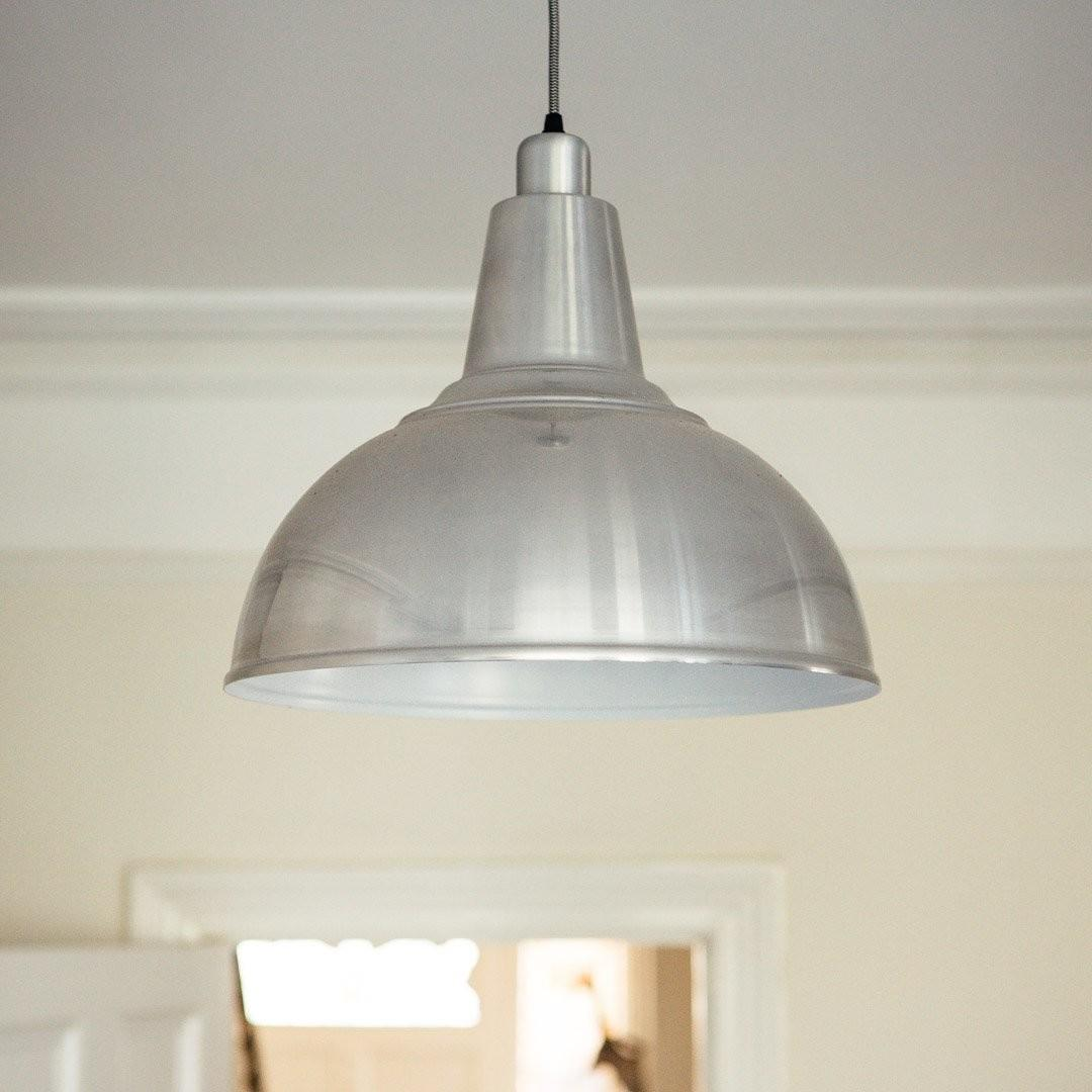 Large Kitchen Pendant Light Aluminium Grace Glory