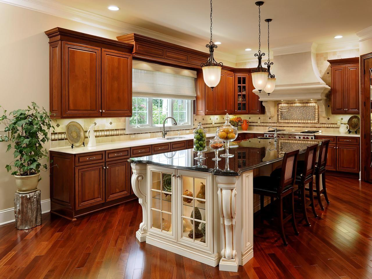 Large Kitchen Window Treatments Ideas