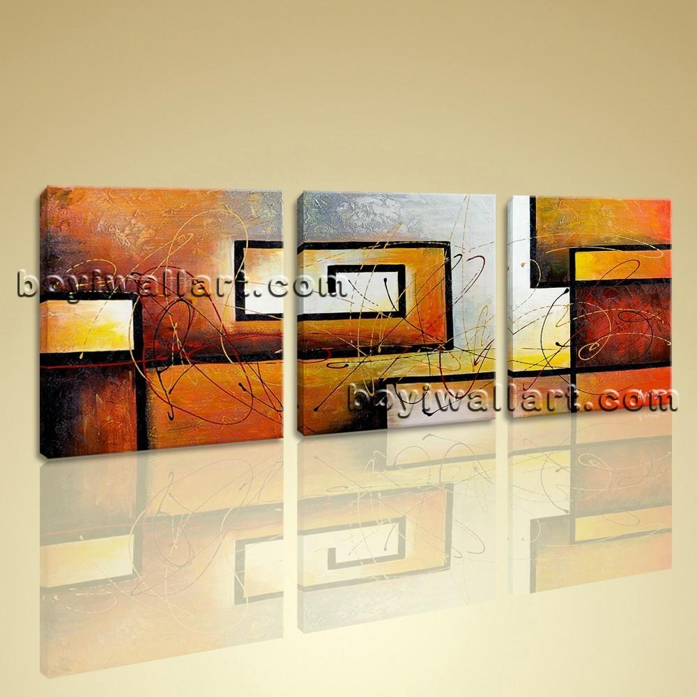 Large Modern Abstract Canvas Wall Art Giclee Print