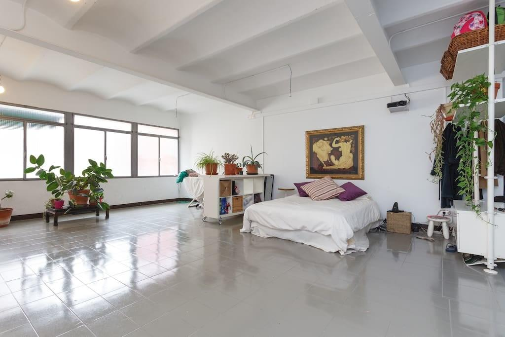 Large Modern Industrial Loft Lofts Rent Barcelona