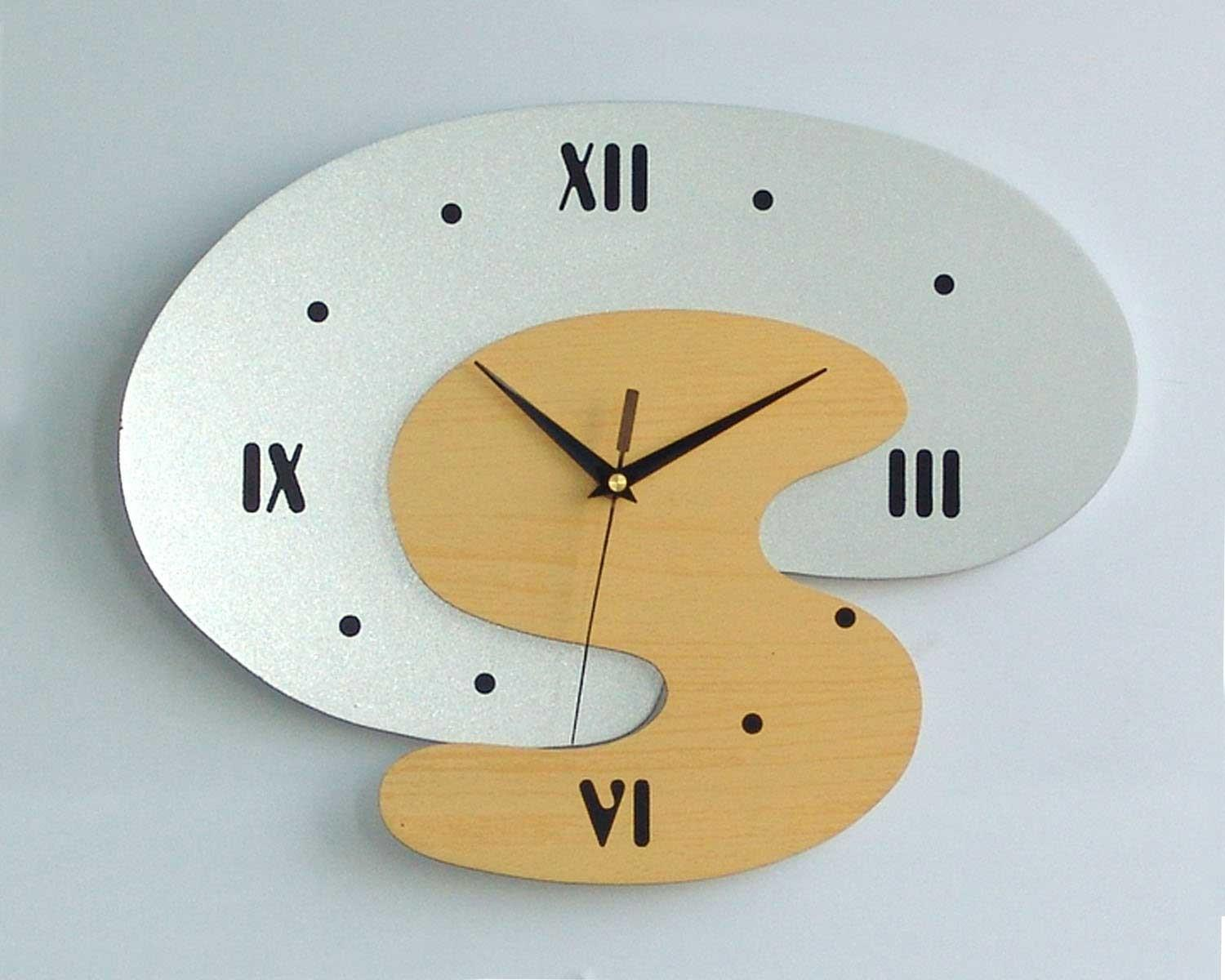 Large Modern Wall Clocks Copper Clock Search