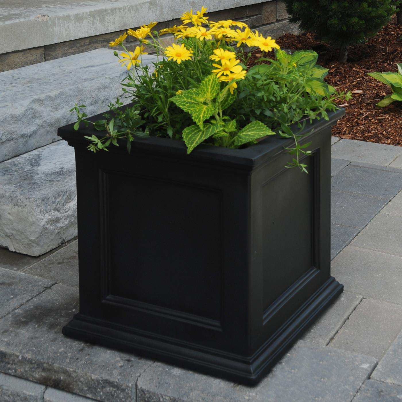 Large Patio Planter Pots Modern Outdoor
