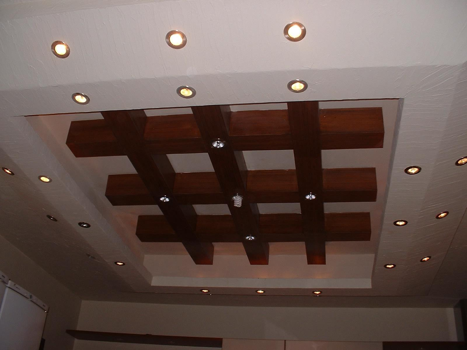 Large Rectangle Pop Ceiling Recessed Lighting Design Tray