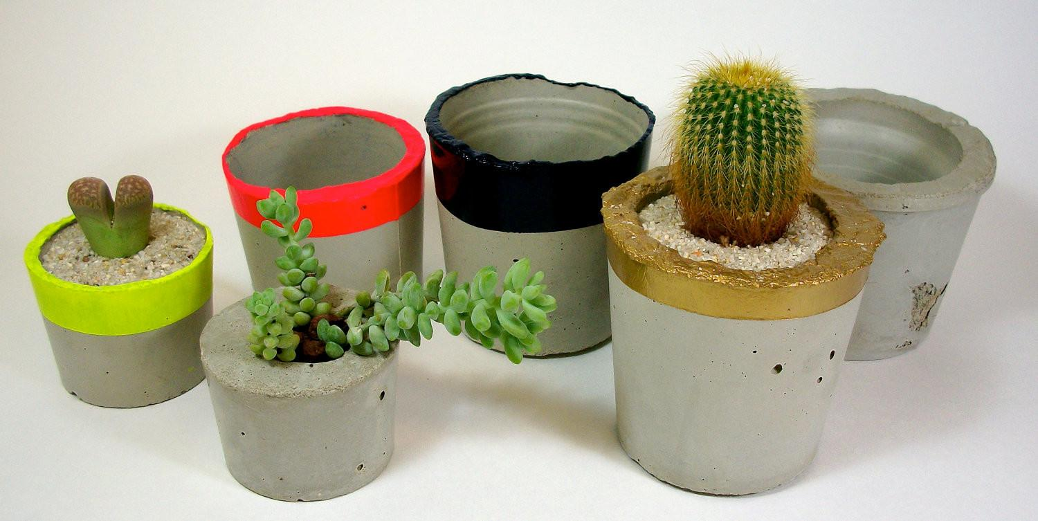 Large Round Concrete Planter Molds Silicone Mold