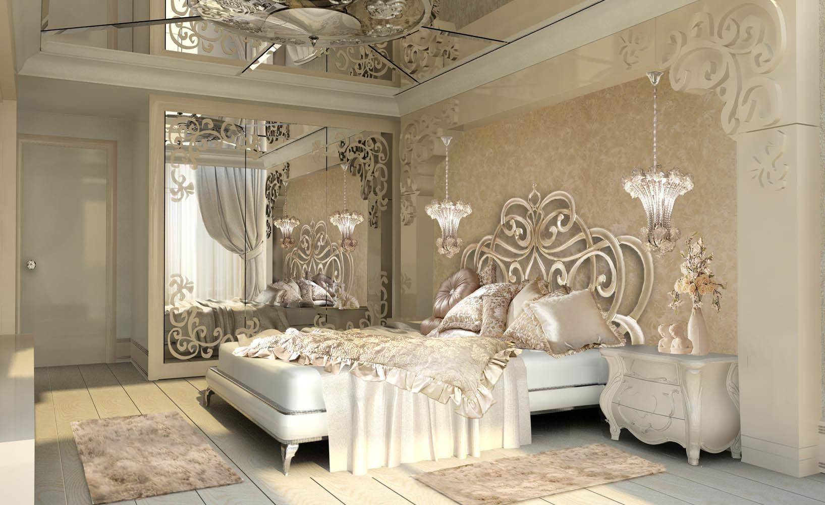 Large Round Mirrors Walls Artistry Luxury Gold