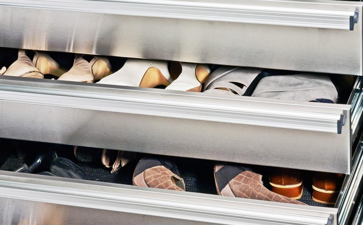 Large Shoe Storage Solutions Cupboard