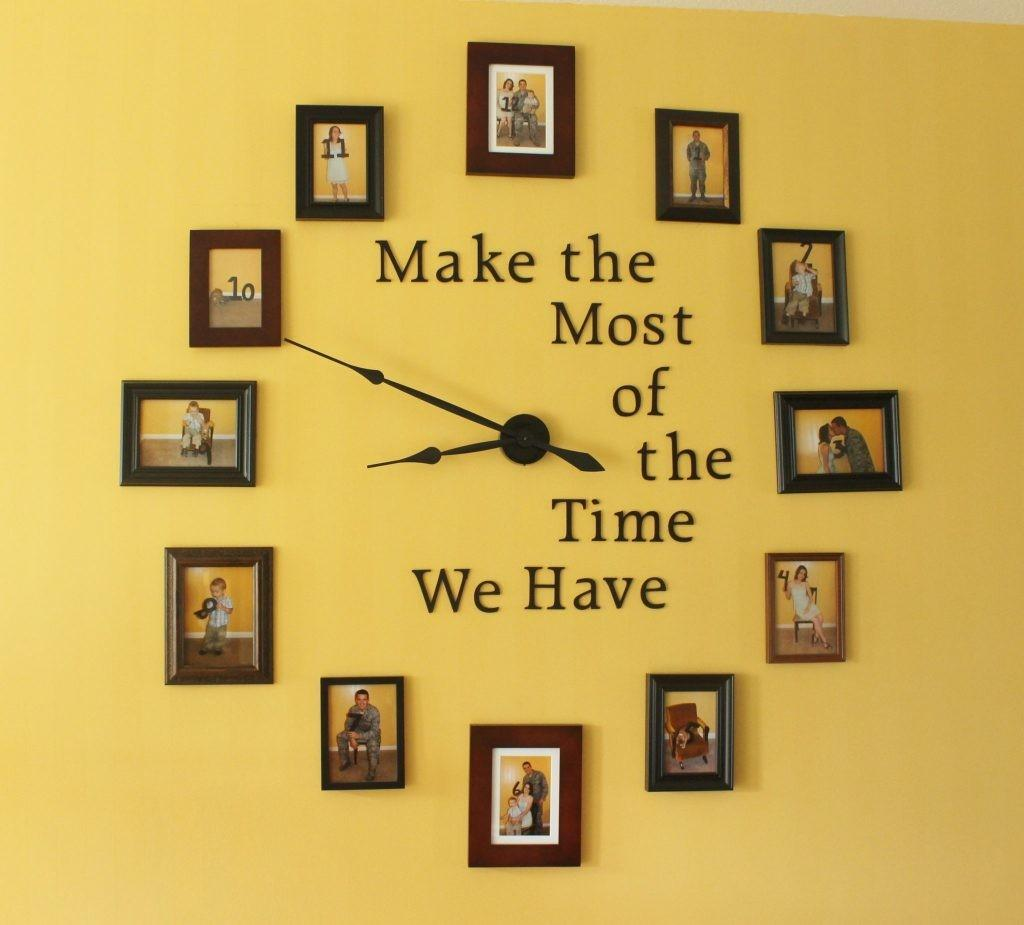 Large Wall Clock Diy