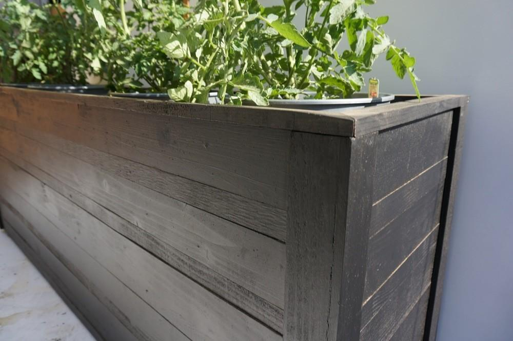Large Window Box Planter Parisian Grey Decorating