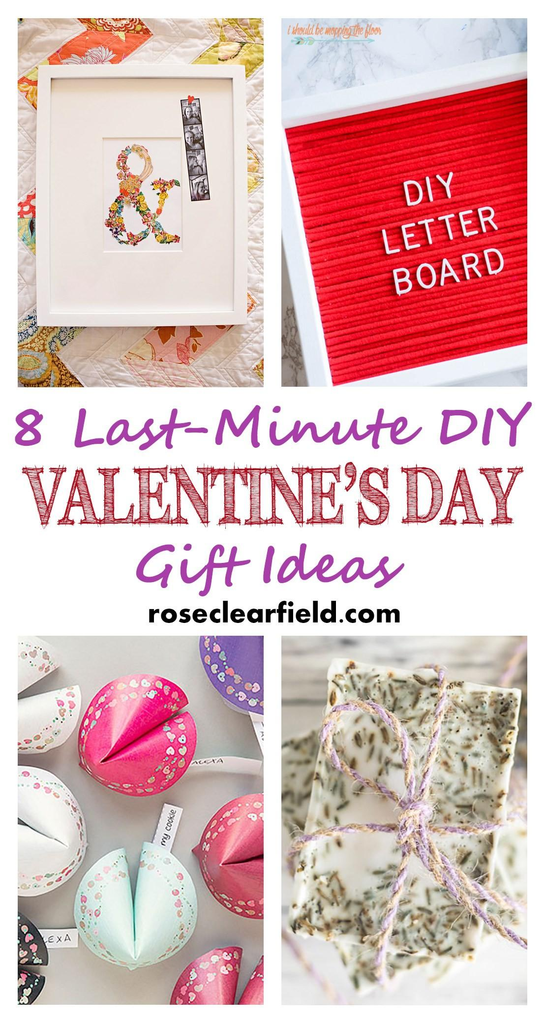 Last Minute Diy Valentine Day Gift Ideas Rose Clearfield