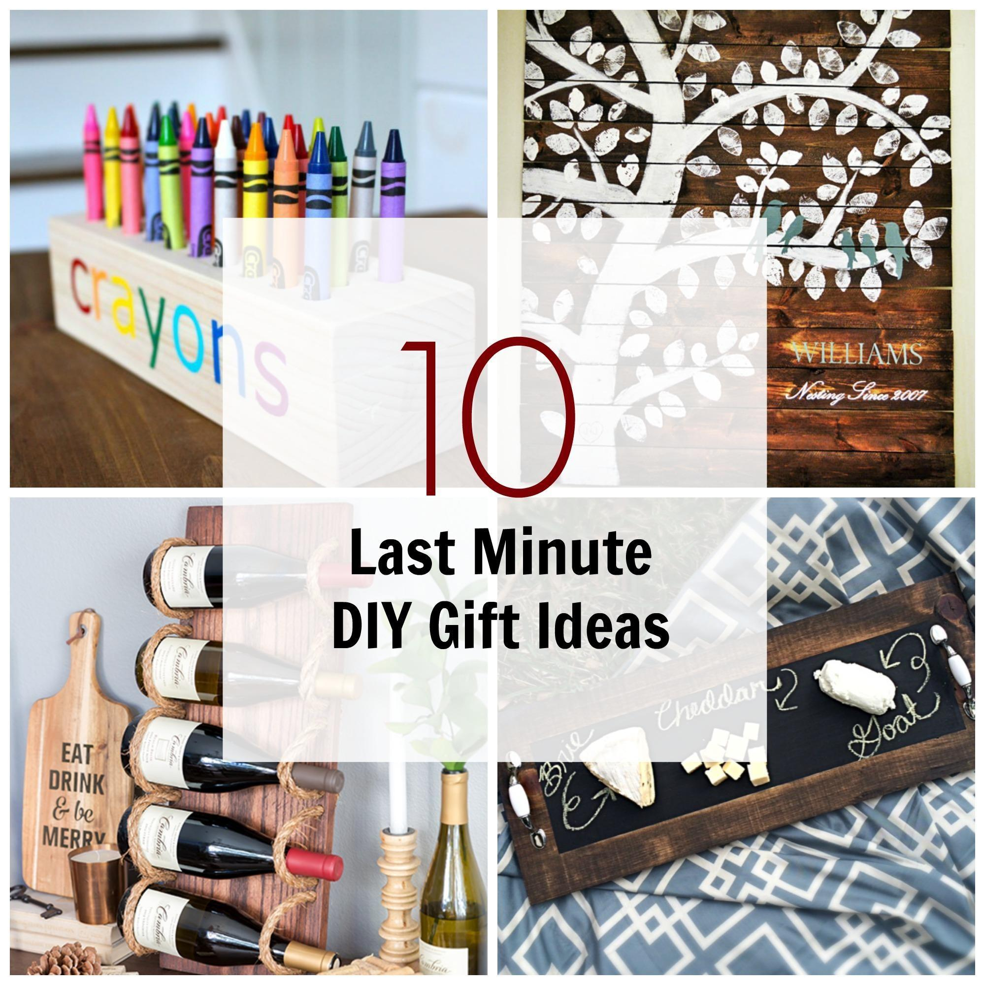 Last Minute Diy Wood Gifts Can Make Ana