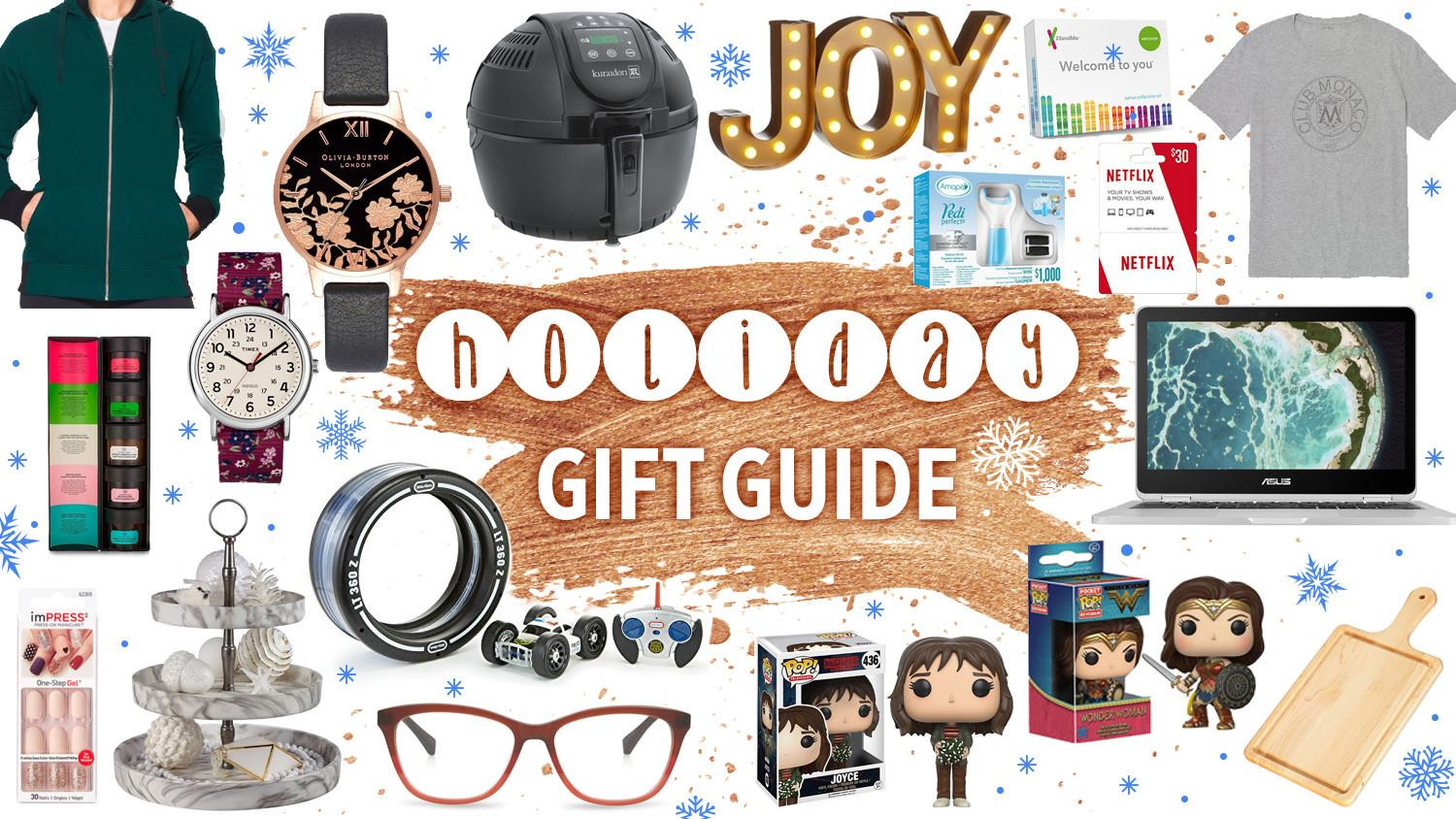 Last Minute Holiday Gift Guide 2017 Celebrity Gossip