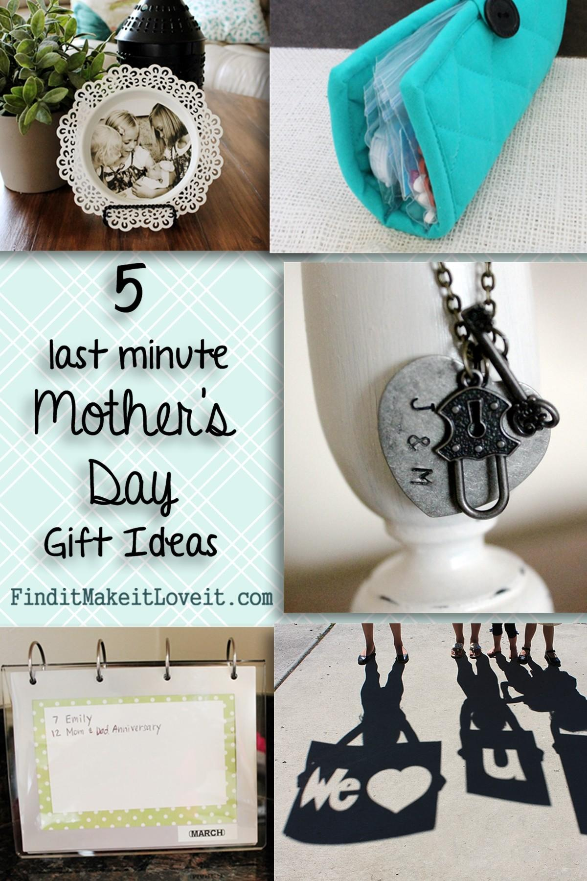 Last Minute Mother Day Gift Ideas
