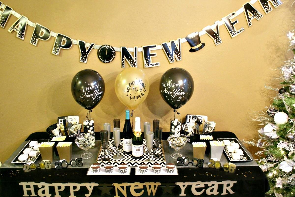 Last Minute New Year Eve Party Ideas Zebra