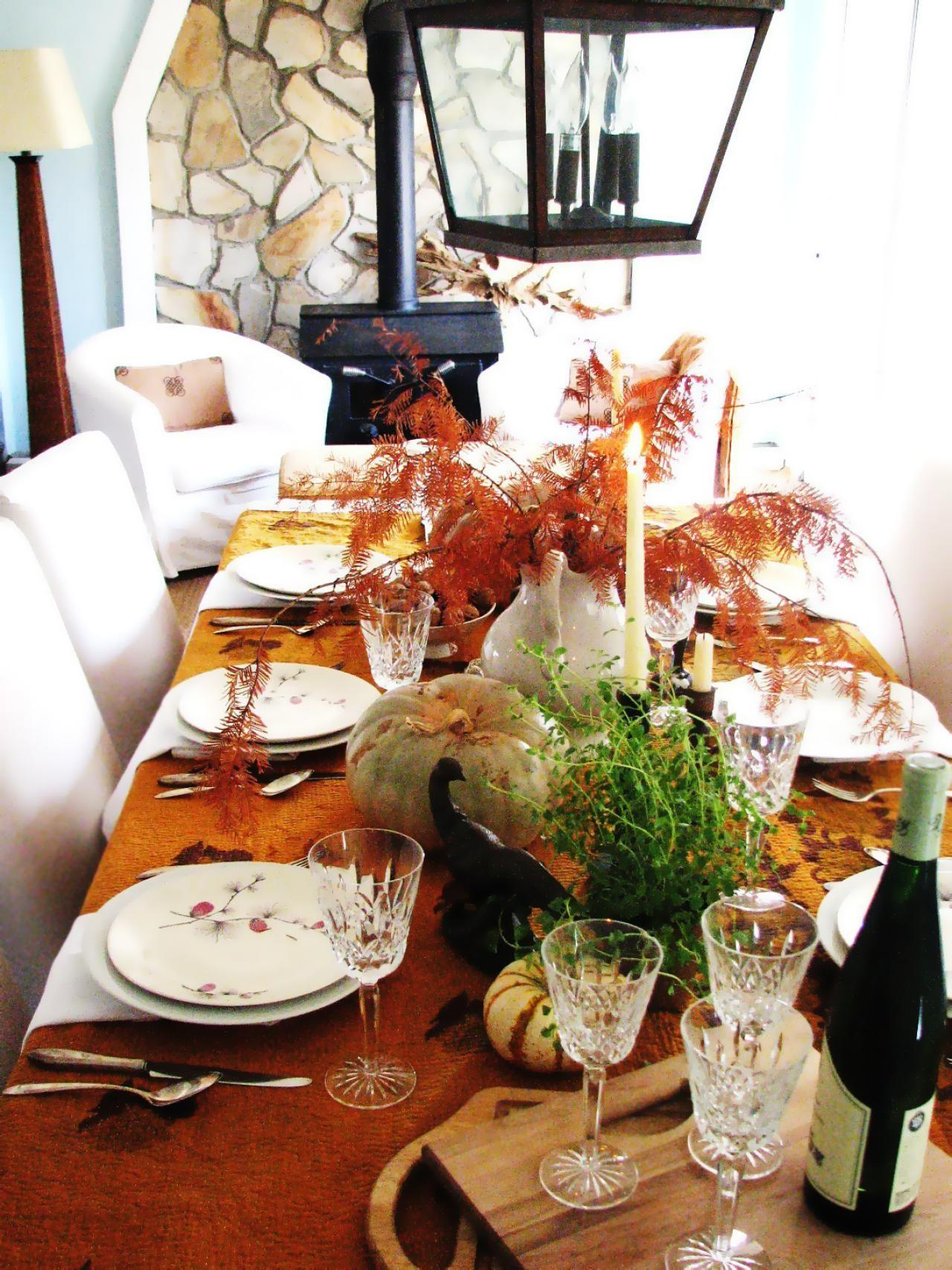 Last Minute Thanksgiving Centerpieces Decorating