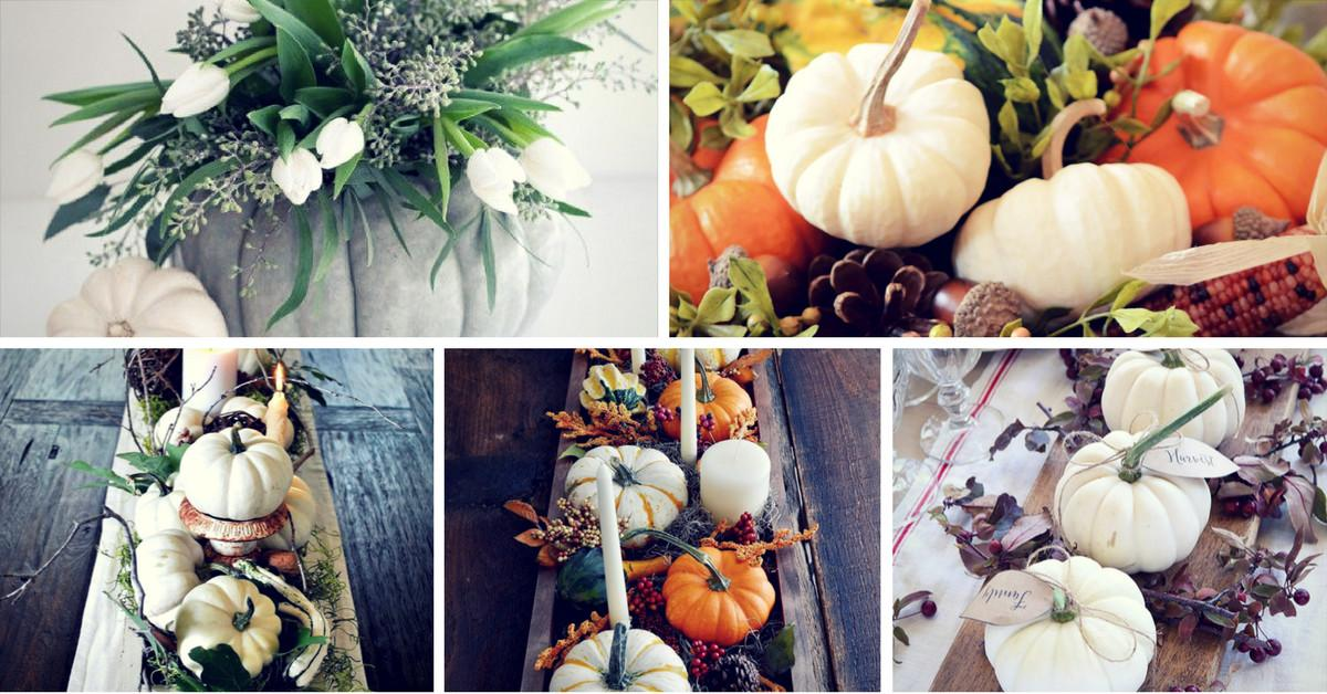 Last Minute Thanksgiving Centerpieces Your Holiday