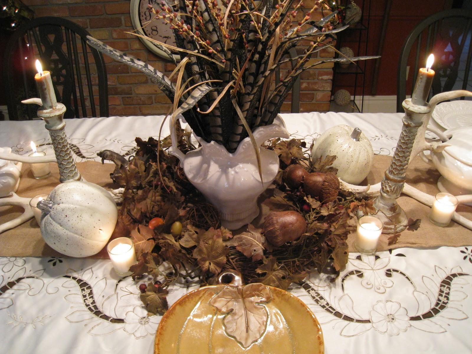 Last Minute Thanksgiving Tablescaping Furnish Burnish