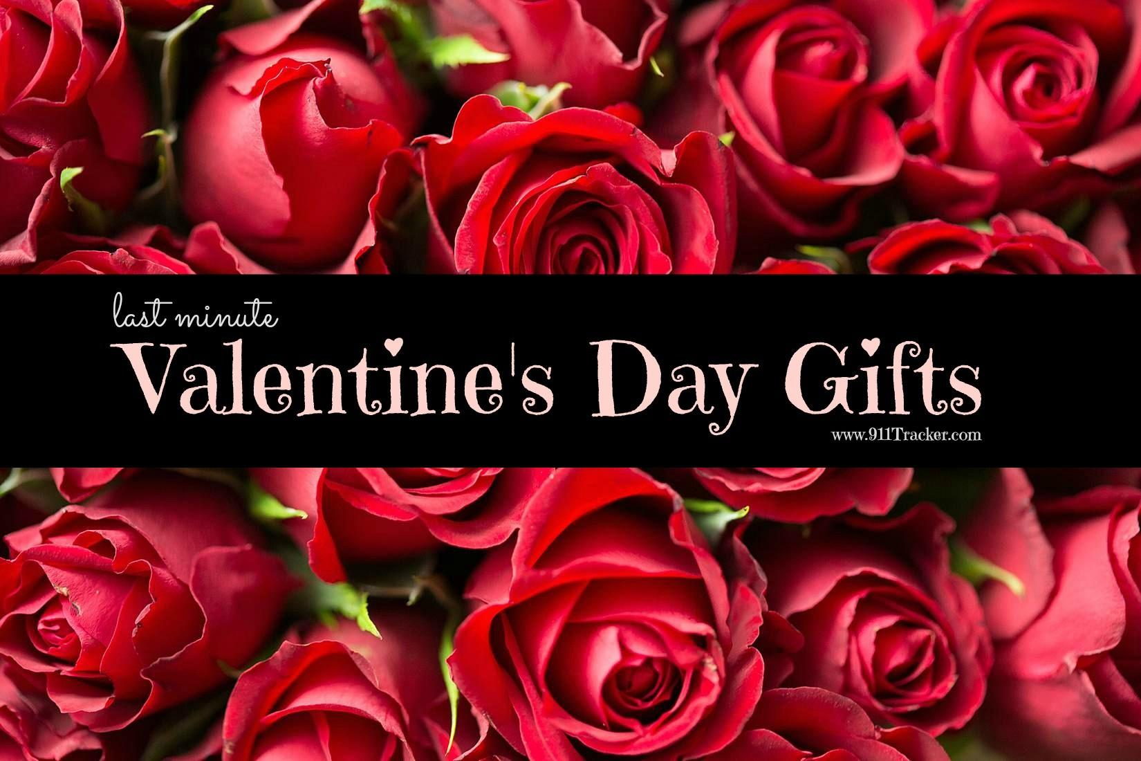 Last Minute Valentine Day Gifts 911tracker Blog