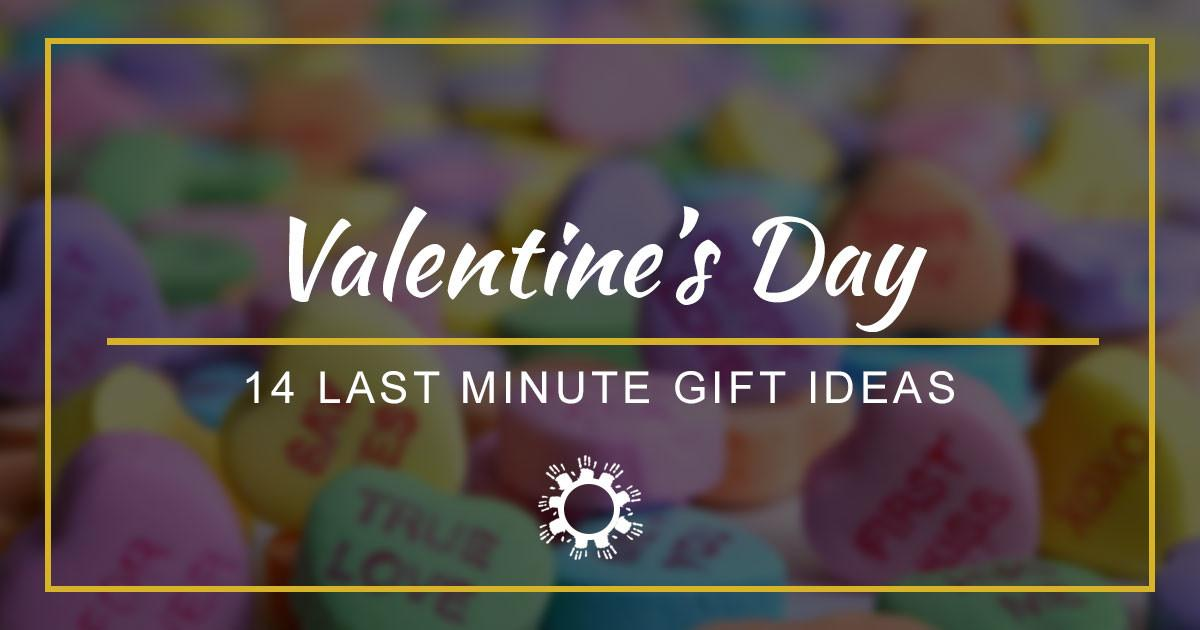 Last Minute Valentine Day Gifts