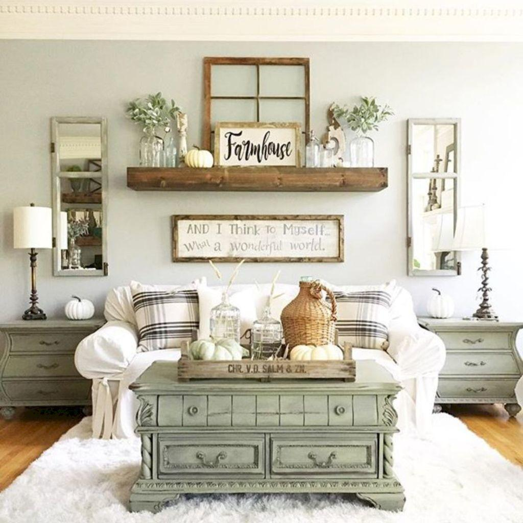 Lasting Farmhouse Living Room Furniture Decor Ideas