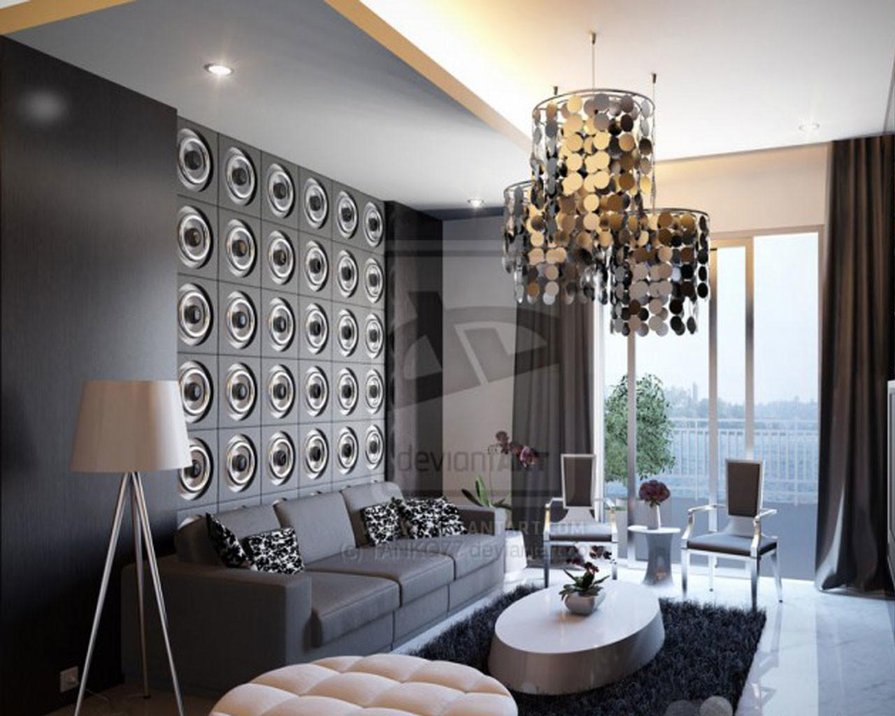 Latest Decorating Trends Living Rooms Modern House