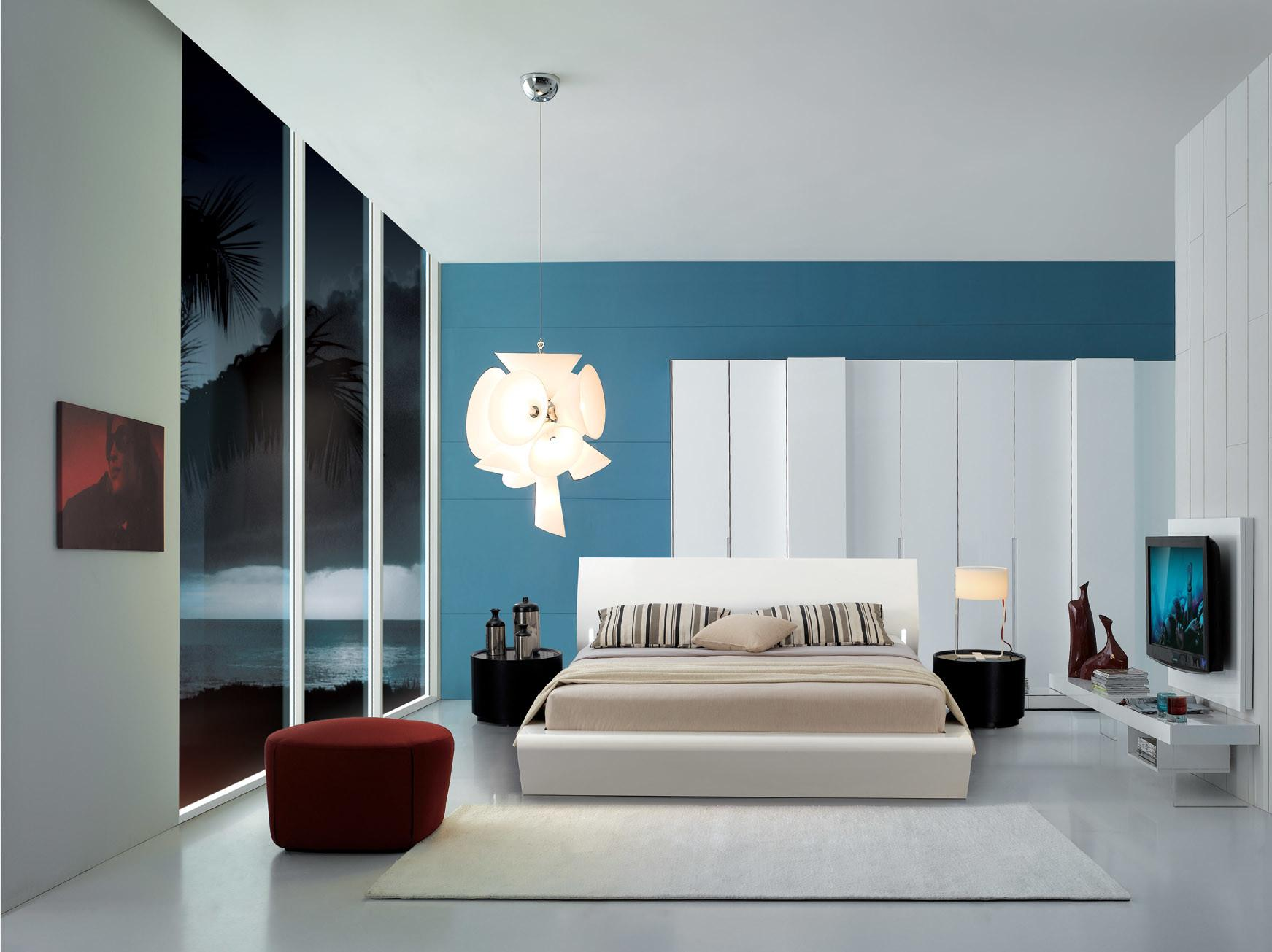Latest Interiors Designs Bedroom Colors