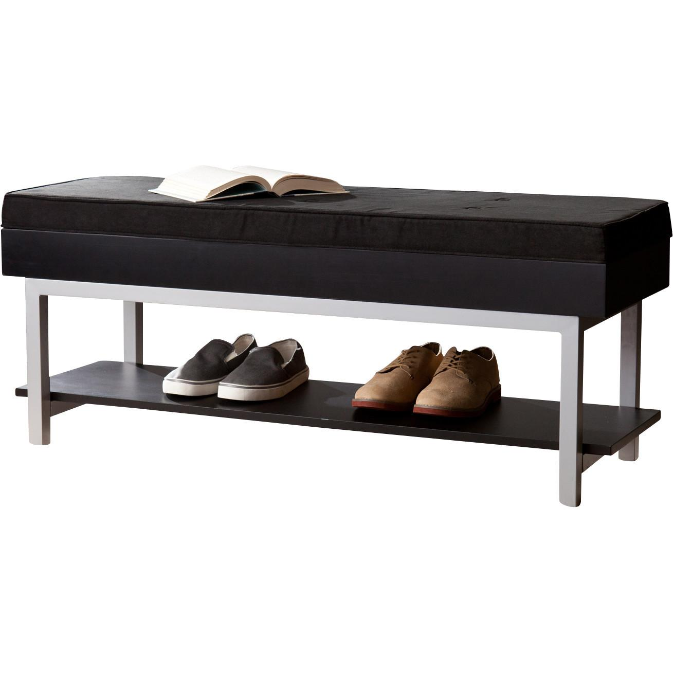 Latitude Run Murphy Upholstered Storage Entryway Bench