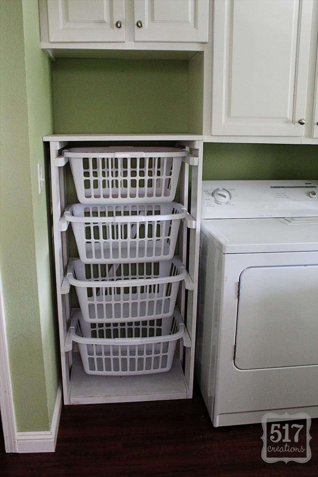 Laundry Basket Dresser More Organized Room