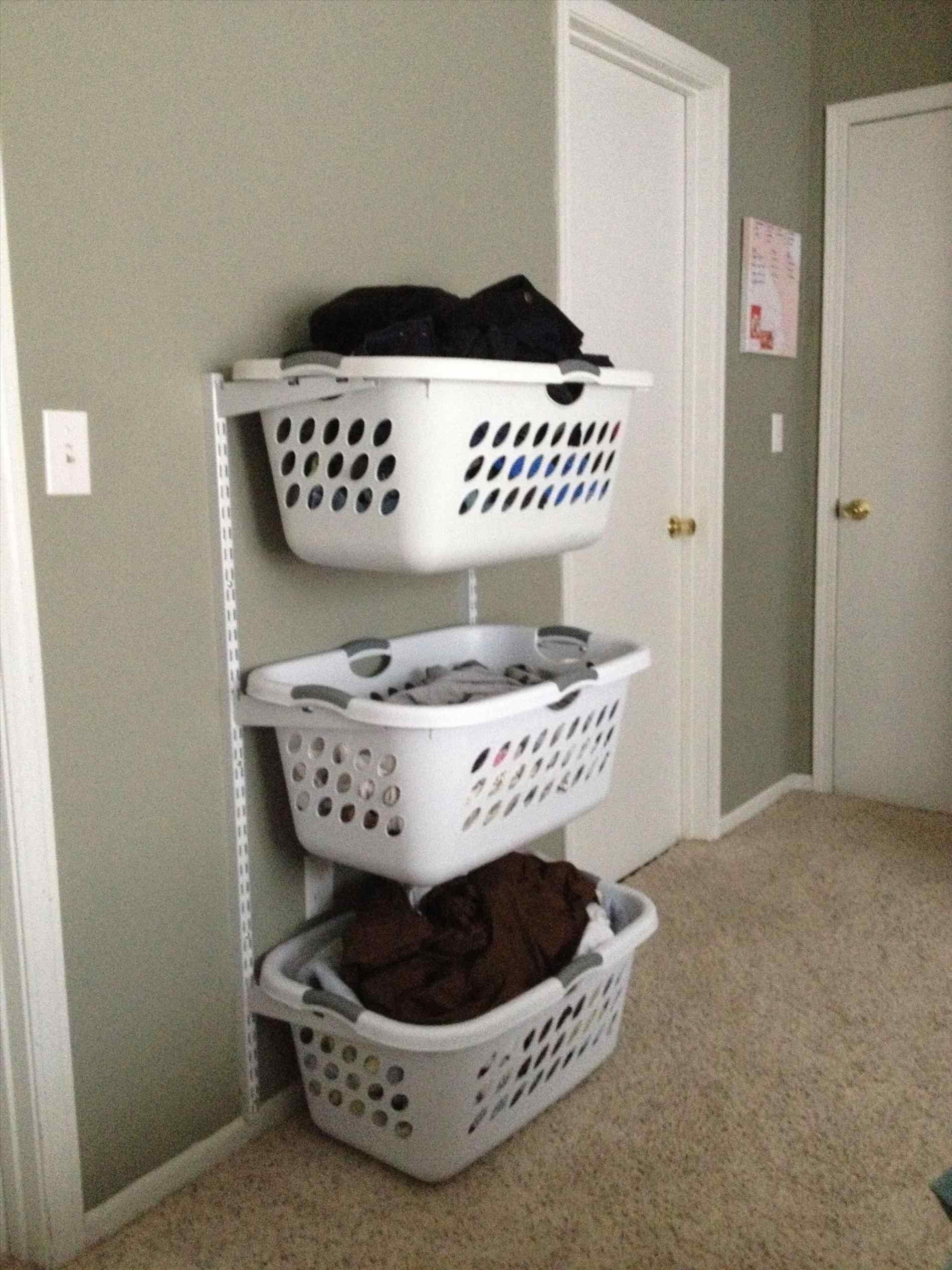Laundry Basket Storage Ideas Siudy