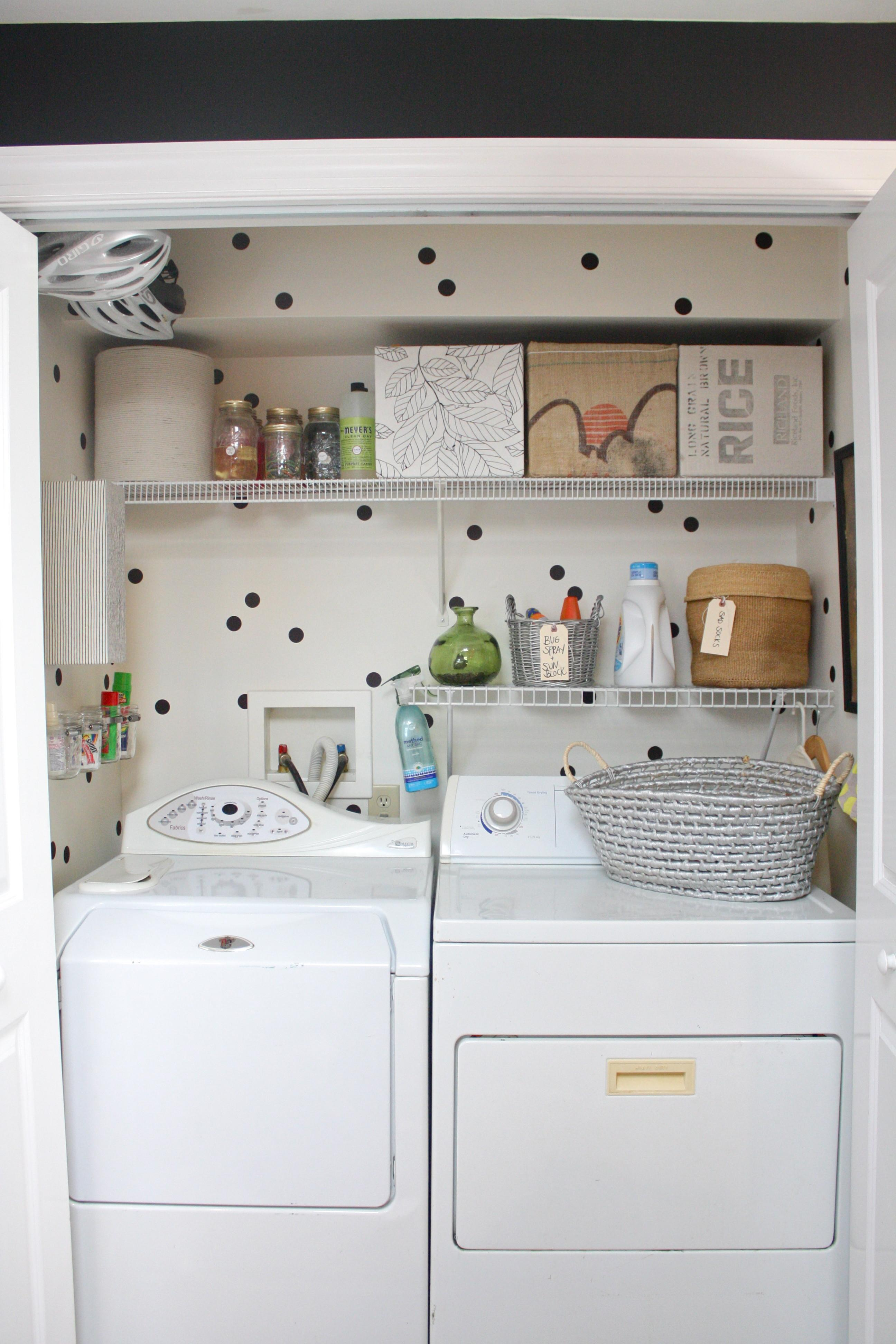 Laundry Closet Makeover Couple Diy Projects