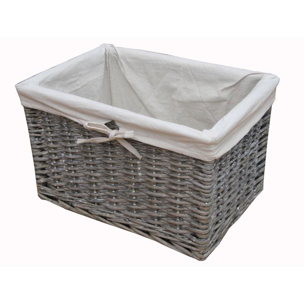 Laundry Room Basket Ideas Grey Storage Baskets