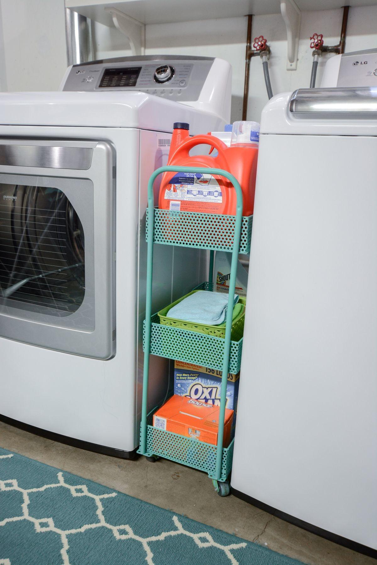 Laundry Room Cart Rolling