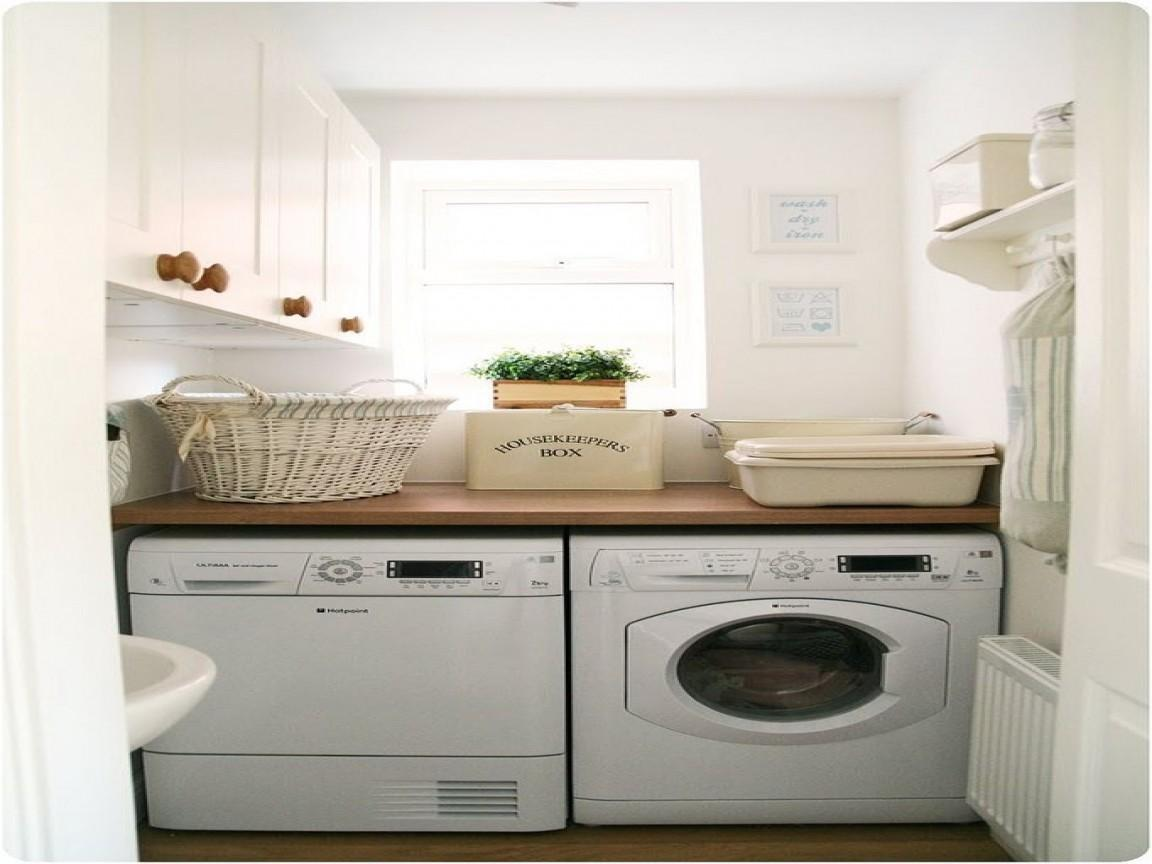 Laundry Room Counter Over Washer Dryer Interior Designs