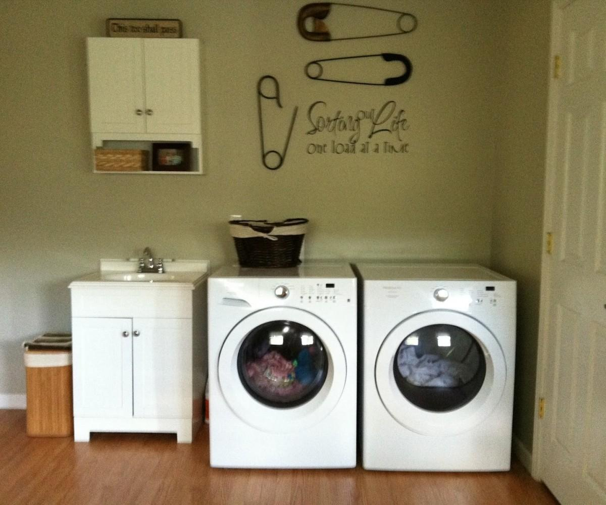 Laundry Room Decor Walmart Shapely Area